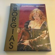 Milo Manara Alejandro Jodorowsky The Borgias Rare Out of Print HC NEW SEALED