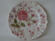 JOHNSON BROS CHINA ROSE CHINTZ BREAD & BUTTER PLATE 6-1/4""