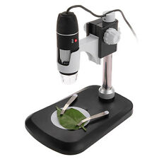 USB Microscope Magnifier Digital Zoom 2MP 500X Black