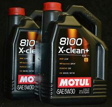 2x5 Liter MOTUL X-CLEAN + 5W-30 Motoröl BMW LL 04 MB 229.51  VW 504 00 / 507 00