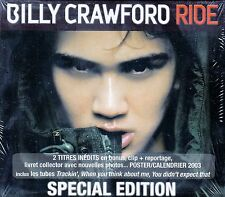 BILLY CRAWFORD : RIDE / CD (SPECIAL EDITION) - NEU