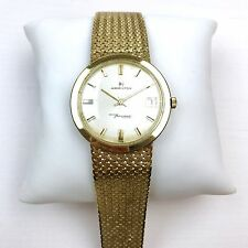 Hamilton 14K Gold Thin-o-matic Vintage Wristwatch, Estate