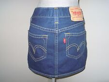 Levi's denim mini skirt size s/p pre-loved