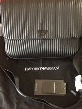 Emporio Armani Flap Leather Messenger /shoulder Bag High-End