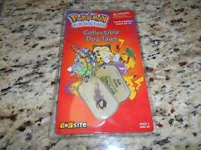 Pokemon Dog Tags #92 Gastly Brand New Gotta Catch Em All Chain & Tags Edition 4