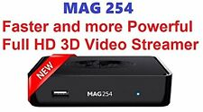 Infomir MAG 254 3D video streamer IPTV STB MAG254 - new version of MAG 250
