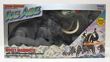 DINO-RIDERS ICE AGE WOOLY MAMMOTH with GROM Caveman TYCO 1990 Mint in Sealed Box
