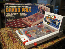 "Vintage Electronic Pinball ""Grand Prix"" Table Top Game"