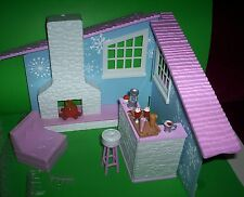 Moxie Girlz Snow Cabin & Accessories Great for Monster High Doll Abbey Bominable