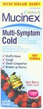 Mucinex Childrens Multi-symptom Cold Liquid, Very Berry, 6.8 Oz Each