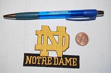 "Notre Dame Fighting Irish 3"" Script Logo Patch College"