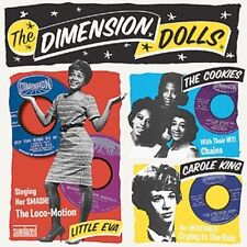 THE DIMENSION DOLLS THE COOKIES CAROLE KING LITTLE EVA OLDIES MUSIC NEW  CD