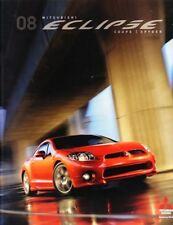 2008 08 Mitsubishi Eclipse original Sales brochure MINT