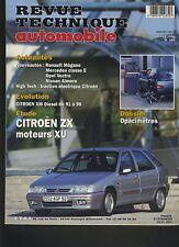 (7B)REVUE TECHNIQUE AUTOMOBILE CITROEN ZX moteurs XU / XM Diesel