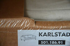 NEU OVP IKEA Bezug KARLSTAD 3er Sofa 501.186.91 LINNERYD NATUR 3-Sitzer beige