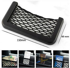 Car Dash Board Net Pouch Storage Cell Phone Mount GPS Card Holder For Toyota BMW