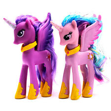 2pcsSet Hasbro My Little Pony Princess Luna Celestia&Twilight Sparkle Figure Toy