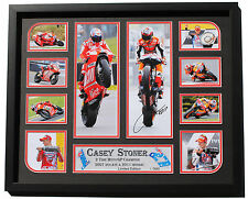 New Casey Stoner Signed Limited Edition Memorabilia