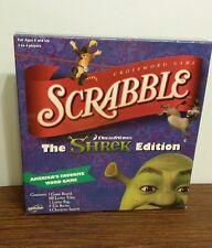 Scrabble Game -SHREK Edition -  Hasbro 2007 - Excellent Condition!