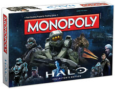Halo Collector's Edition MONOPOLY® New 2016 8+ Boys Girls Usaopoly