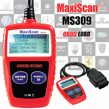 CAR Fault Code Reader MaxiScan MS309 motore scanner può OBD2 DIAGNOSTIC TOOL UK