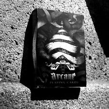 Ellusionist Arcane Deck - Black - Playing Cards - Magic Tricks - New