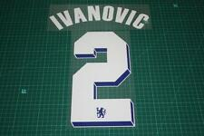 Chelsea 11/12 #2 IVANOVIC UEFA Chaimpons League / FA Cup Final Nameset Printing