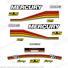 Mercury Racing 260hp 2.5L ProMax Outboard Decal Kit for Lightweight Cowl Pro Max