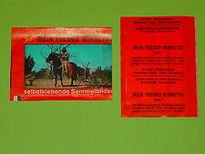MEIN FREUND WINNETOU - TEIL 1 / SAMMELBILDER - WUNDERTÜTE / KARL MAY - HEINERLE