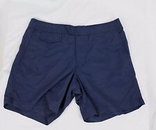 "J.Crew $70 NWT Mens 6.5"" Tab Swim Shorts 30 Navy Blue A0701"