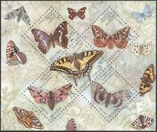 Ukraine 2004 Butterflies/Insects/Nature/Conservation/Moths 5v sht (n14961)