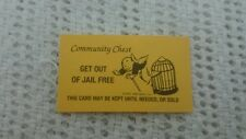 Get Out of Jail Free Monopoly Card Gag Gift Yellow