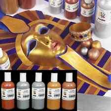150ml GOLD METALLIC HIGH PIGMENT GLASS CERAMIC CRAFT SCOLAMELT ARTIST PAINT
