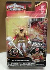Power Rangers Ultra RED Ranger #35116 NEW with Trading Card 2013 Ban Dai 4+