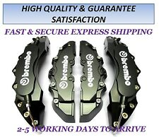 BMW E36 E46 E60 E61 E90 E91 BIG BLACK BRAKE CALIPER COVER 4PC F/REAR