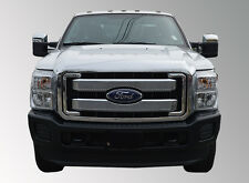 Fits 2011-2016 FORD F-250/F-350/F-450/F-550 SUPERDUTY MESH OVERLAY GRILLE!!