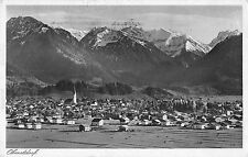 Oberstdorf Allgau Germany panoramic birds eye view of area antique pc Z16186