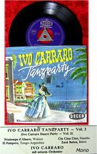 EP Ivo Carraro: Tanzparty Vol. 2 / Decca Fllschrift