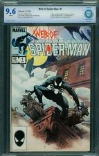 WEB OF SPIDER-MAN 1 CBCS 9.6 - WHITE PAGES