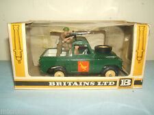 "VINTAGE BRITAINS MODEL No.9XX  ""  BRITISH ARMY LAND ROVER ""     VN MIB"