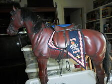 1/6 scale 15th Hussars Saddle Blanket dress or officer dragon horse size