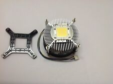 LED Fan Heatsink Radiator DC 12V For 50W 100W High Power LED Chip Heatsink