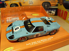Slot it CW09 - Ford GT40 'Le Mans 1969 - Winning Car' - Brand New in Box