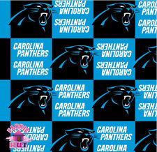 114123070- New Carolina Panthers NFL Fleece Fabric By The Yard Football Team