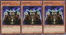 Playset 3 x Lord of D. - DPBC-EN017 - Common 1st Edition