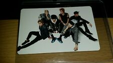 B.a.p group japan jp official photocard Kpop k-pop  shipped in toploader (U.S