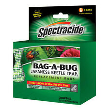 "Spectrum HG-16903-6 ""Bag-A-Bug"" Replacement Bags - 6Pk Japanese Beetle Trap"