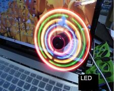 Ventilador USB con LED USB laptop Fan with LED's  A2090