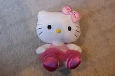 "6"" Ty Hello Kitty Sanrio Stuffed Plush Pink Tutu Ballet Leotard"