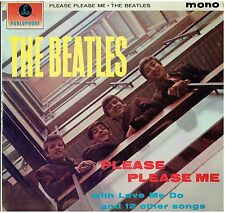 THE BEATLES - Please Please Me - Rare 1963 UK fourth pressing 14-track mono LP